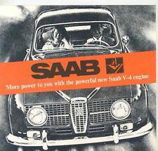 1967 Saab 96 V4 95 V4 Sales Brochure x6632-P7ZAVM