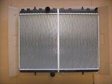 Radiator Citroen C4 C5 Petrol 2.0L Manual 2005 *Normal Bottom Hose Connection*