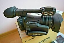 Canon XF205 HD Camcorder 20x Zoom Immaculate Condition