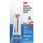 3M™ Marine Adhesive Sealant 5200, PN05205, Black, 3 oz Tube