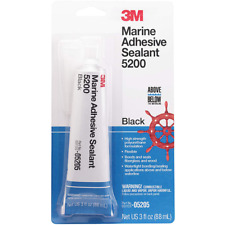 3M™ Marine Adhesive Sealant 5200, PN05205, Black, 3 oz Tube