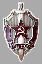 CCCP USSR URSS SOVIET RUSSIE BLASON 12cmX8cm AUTOCOLLANT STICKER AUTO UA033