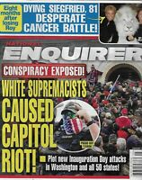 National Enquirer Magazine Capitol Riot Siegfried and Roy Armie Hammer 2021