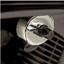 Show Chrome Fuel Shut Off COVER PLATE Honda VTX1300 Shadow 750 1100 ACE