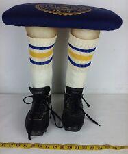 University of Michigan footrest stool  football player Custom Made.  alumni