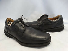 ECCO SEATTLE MENS BLACK LEATHER OXFORD SHOES SIZE 47 13 - 13.5 EXTRA WIDTH D5708
