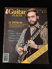GUITAR PLAYER MAGAZINE-Al DiMeola-Carlos Montoya-Gordon Edwards-Duane Eddy 1978