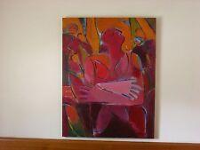 WOMAN Marie Mason :   34X44- Marie Mason Summers Embrace  : Acrylic  on Canvas