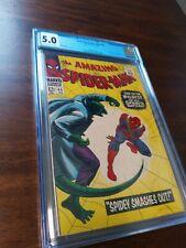Amazing Spiderman 45 CGC 5.0 Lizard