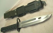 1991~BUCK~M9 USMC~MARINE FIGHTING KNIFE BAYONET WEAPON~RARE 1 OF 5000 w/SCABBARD