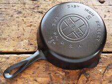 Vintage GRISWOLD Cast Iron SKILLET Frying Pan RESTORED # 5 LARGE BLOCK LOGO