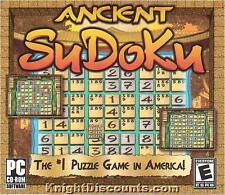 ANCIENT SUDOKU #1 Puzzle PC Game NEW in BOX Win 98-XP