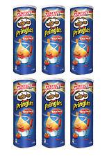 6 x Pringles Tomato Ketchup Flavor Potato Chips 165g 5.3oz