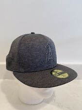 New Era 59 Fifty Fitted Hat Sz 7 3/8 Anaheim Angels