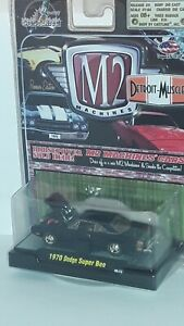 M2 ( Detroit Muscle ) 1970 Dodge Super Bee , Black & Gold -2009