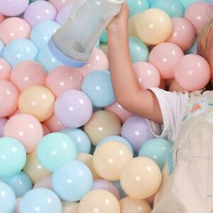 50Pcs Outdoors Soft Plastic Ocean Ball Baby Kids Toy Swim Pit Pool