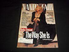 1994 NOVEMBER VANITY FAIR FASHION MAGAZINE - BARBRA STREISAND COVER - J 1078
