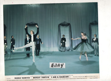 RUDOLF NUREYEV ,MARGOT FONTEYN,VINTAGE FOH LOBBY CARD PHOTO,I AM A DANCER