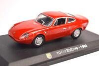 FIAT ABARTH 1000 BIALBERO 1963 1:43 AH01 M4 STARLINE NEW DIE-CAST MODEL FAULT