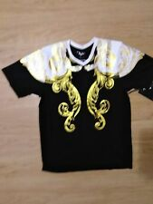 NWT!! Men Versace 19V69 Italy V-Neck BLACK MEDIUM