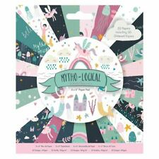 """Docrafts Papermania Craft Premium Paperstock 6 x 6"""" - Mytho-Logical (50pk)"""