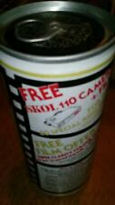 SKOL LAGER BEER CAN UK 440 ml free camera and film offer 1988 BO aluminum