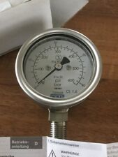 Wika Manómetro 316 Acero Inoxidable 600psi calibre especialista