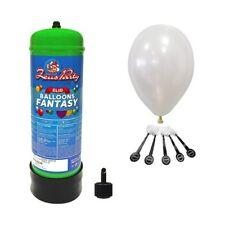 Kit Bombola Gas Elio da 2,2 lt. per palloncini con 20 Palloncini Led Bianchi