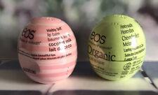 2 x EOS Lip Balm Honeysukle Honeydew & Coconut Milk New *FAST POST*