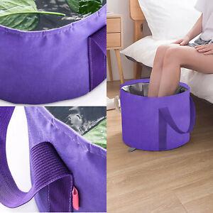 Foldable Water Basin Foot Soak Bucket Foot soak Bag Multifunctional Buckets C