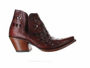 Ariat Mens Dixon Red Snake Cowboy, Western Boots Size 10 (2069760)