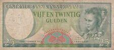 Suriname 25 gulden 1963 serie RC / U048
