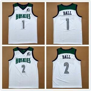 LaMelo Ball 1 Lonzo Ball 2 Chino Hills High School Basketball Jerseys Stitched