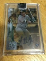 SETH BROWN 2020 TOPPS CLEARLY AUTHENTIC ROOKIE RC AUTO SP A'S NICE!