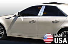 Chrome Accessories Pillar Post Trim Fit 08 13 Cadillac Cts 4p Fits 2010 Cadillac Cts