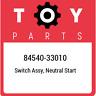 84540-33010 Toyota Switch assy, neutral start 8454033010, New Genuine OEM Part