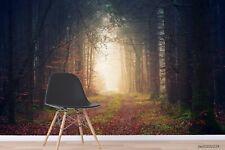 New Listing3D Forest Landscape Wallpaper Wall Murals Removable Wallpaper 277