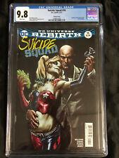Suicide Squad #16 Lee Bermejo Variant Harley Quinn & Lex 1st Print CGC 9.8 DC