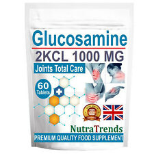 Glucosamina Solfato 2KCl 1000mg PREMIUM QUALITY Giunti Care 60 Compresse fatta in UK