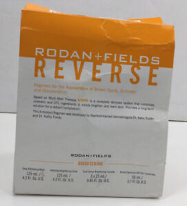 Rodan + Fields New Formulation Reverse Regimen w/Retinol & Pure Vitamin C (Read)