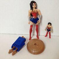 """WONDER WOMAN action figure Justice League Action mattel 4.5"""" power connects"""