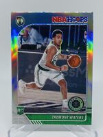 2019-20 Panini Nba Hoops Tremont Waters Silver Prizm Rookie Card #237 Celtics