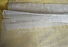 VINTAGE SILK ORGANZA HANDWOVEN WITH EMBROIDERED MOTIF 50% OFF! PP784