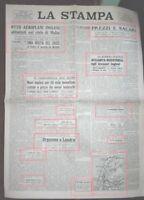 WW2*LONDRA BORBANDAMENTI TEDESCHI PROVOCANO 5400 MORTI'*N.3209