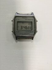 Seiko Lcd Vintage A914 Japan Made Alarm Chromograph