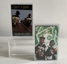Eric B And Rakim Paid In Full & Follow The Leader Cassette Tapes X 2 Rare!