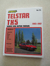 1983 - 1987 Ford Telstar & TX5 service and repair manual