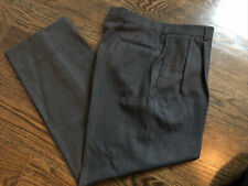 New listing Brooks Brothers 100% Worsted Wool Gray Dress Pants Sz 18