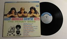THE HONEY BEES Great American Country Hits LP Everest SDBR-1111 US 1960 VG++ 00F