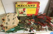 Vintage Meccano Construction Set Still Wired Instructions Magazine1,3,4 &4-5-6